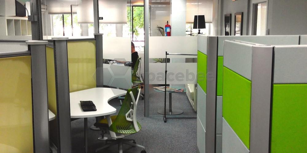 imagen del interior de la oficina