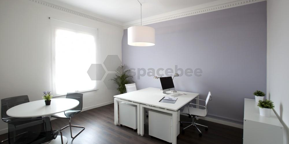 Spacebee oficinas de alquiler en sarria san gervasio for Oficina ups barcelona