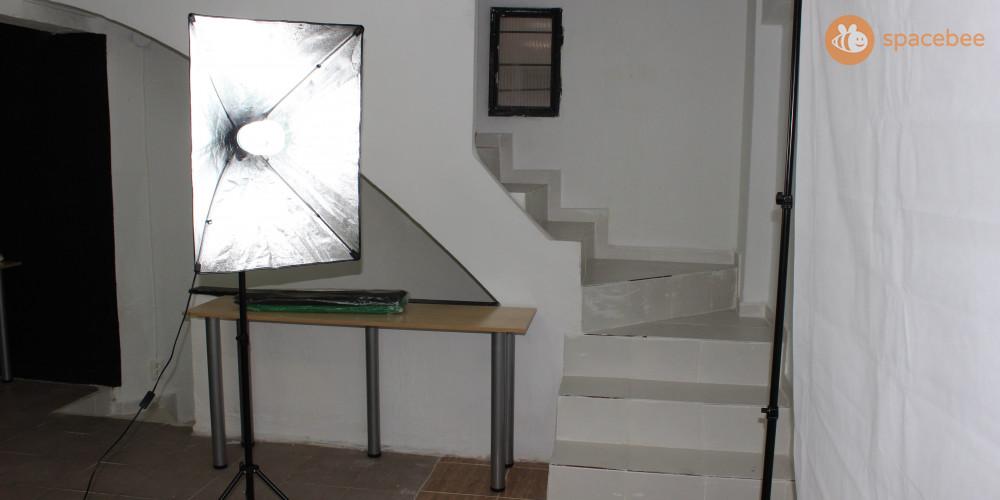 Filtros/Sombrillas blancas para atenuar la potencia de las luces