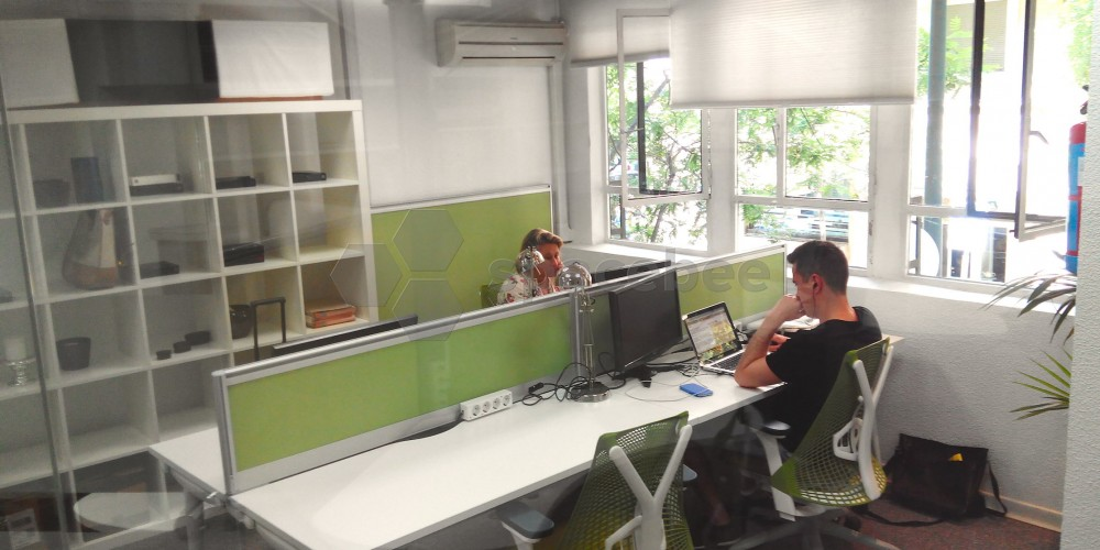 Sala de silencio en donde los clientes puede llegar a altos niveles de concentración