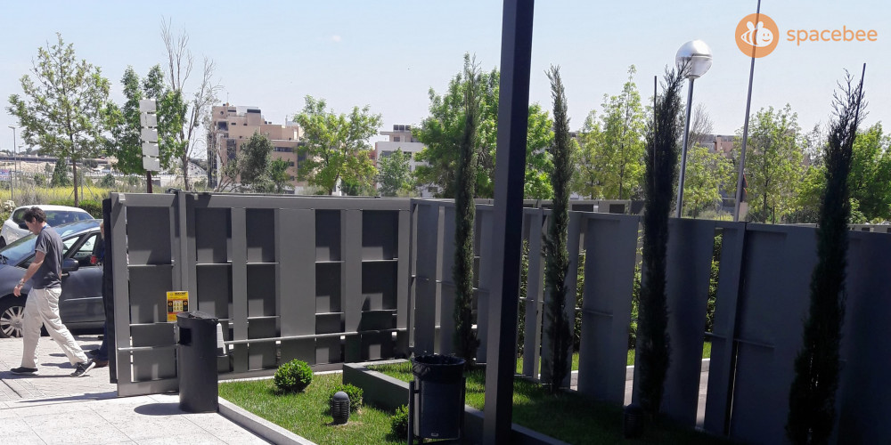 Entrada del edificio