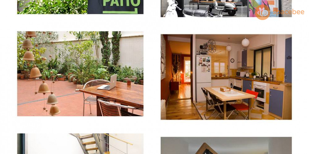 Collage El Patio Coworking