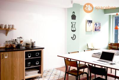 Espacio de CoWorking y Cafe para nomadas digitales