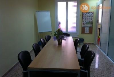 Aulas y salas de junta
