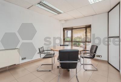 Luminosa sala de reuniones para 4-6 personas
