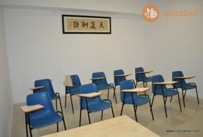 Espaciosas aulas para aprender