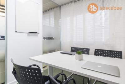 Sala de reunión para 4 personas