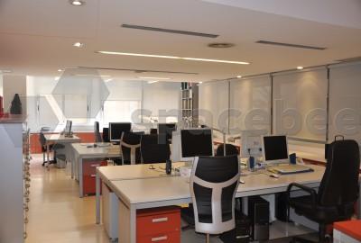 4 mesas de trabajo juntas o individuales