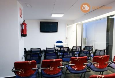 Sala de Conferencias para 30-90 personas