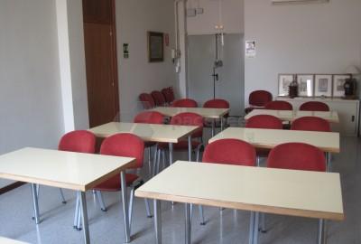 Sala para reuniones o presentaciones