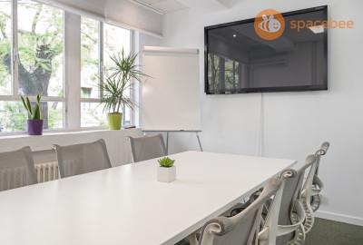 Sala de reunión para 2 a 6 personas
