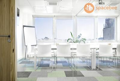 Sala de reunión premium hasta 14 personas