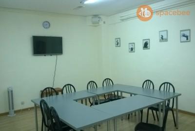 Espaciosa aula