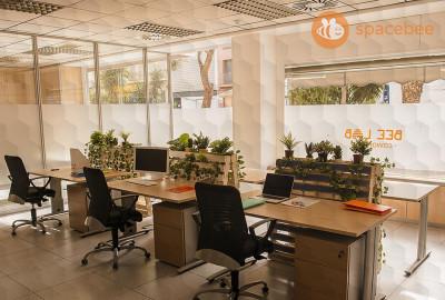 Espacioso y luminoso espacio de trabajo